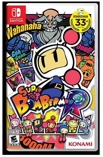 Super Bomberman R Black Bomber
