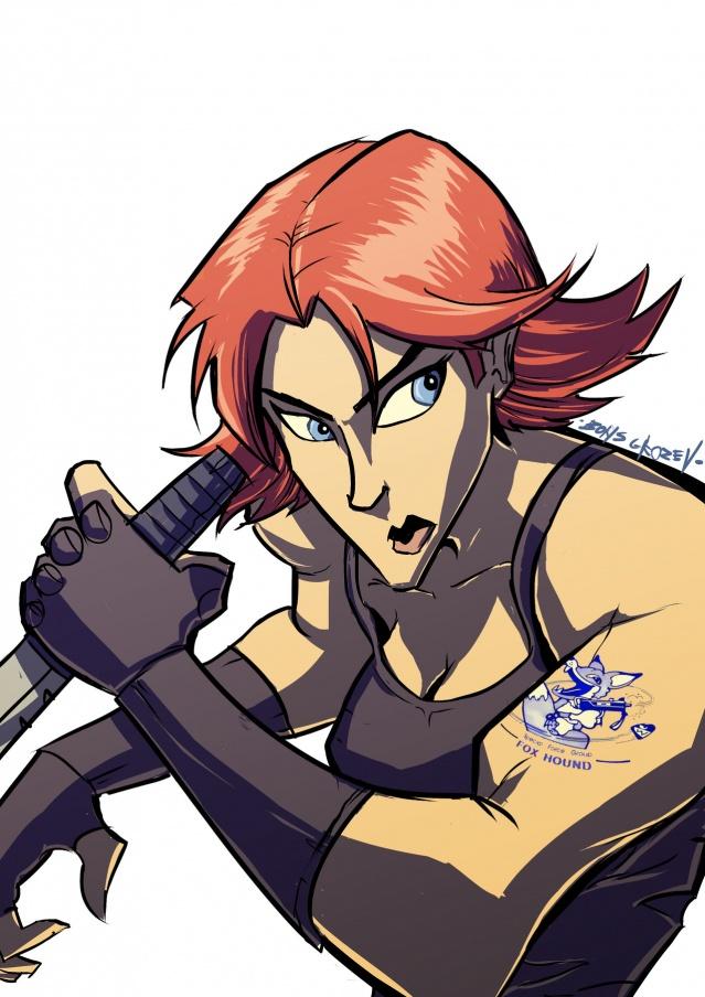 Boris Grozev S Metal Gear Fanart Konami Digital Entertainment B V