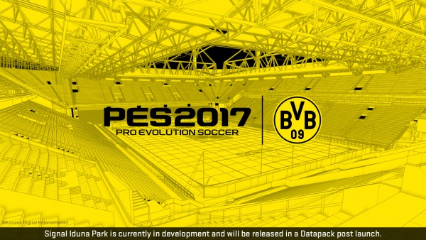 KONAMI details content for first two free PES 2017 download updates