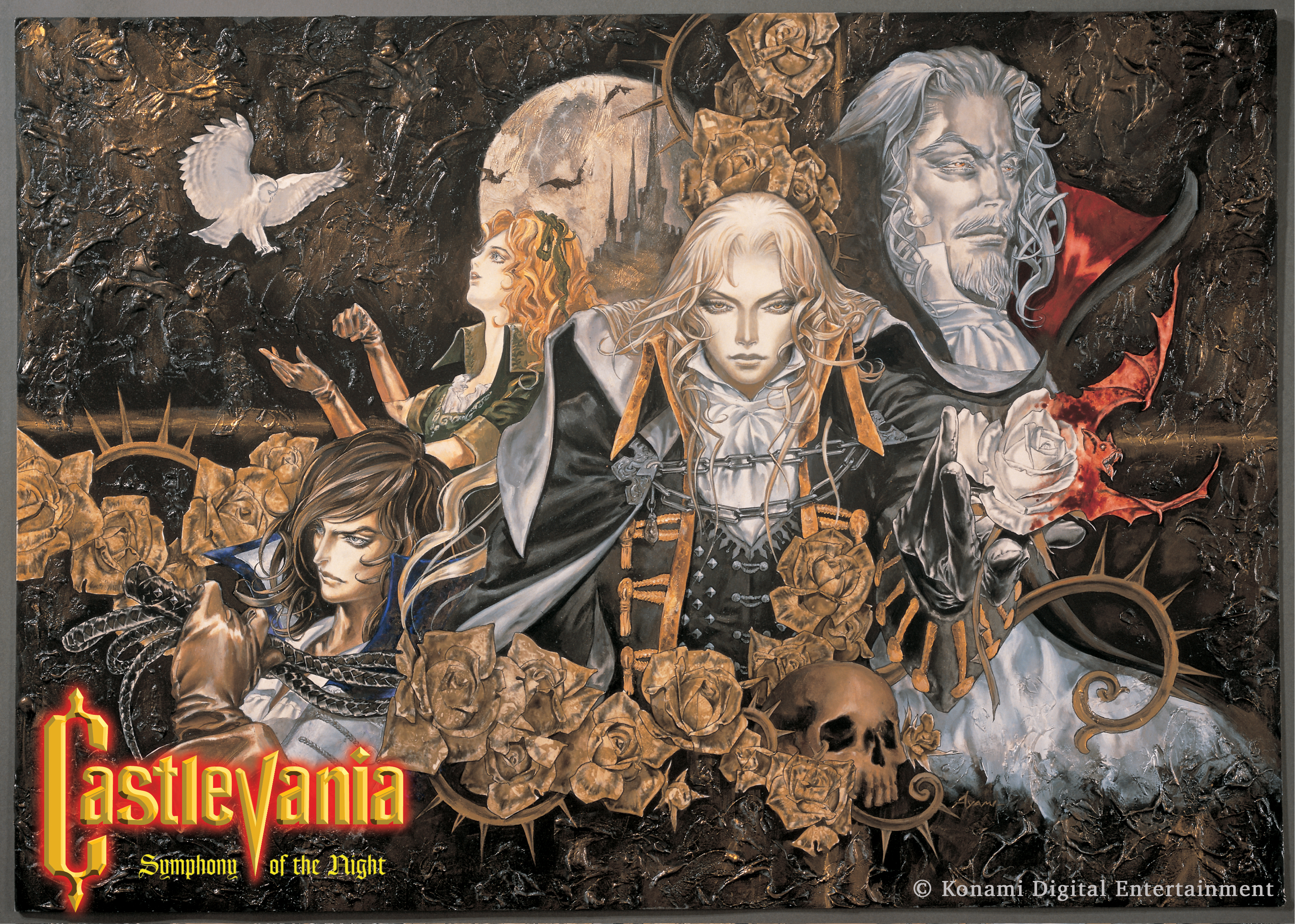 Castlevania Key Art_with Logo