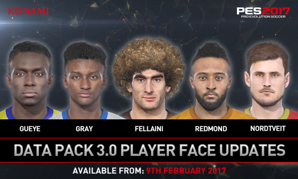 Konami Digital Entertainment B.V. has revealed the details of its third free Data Pack update for its acclaimed PES 2017 title, with a wealth of new faces, ...