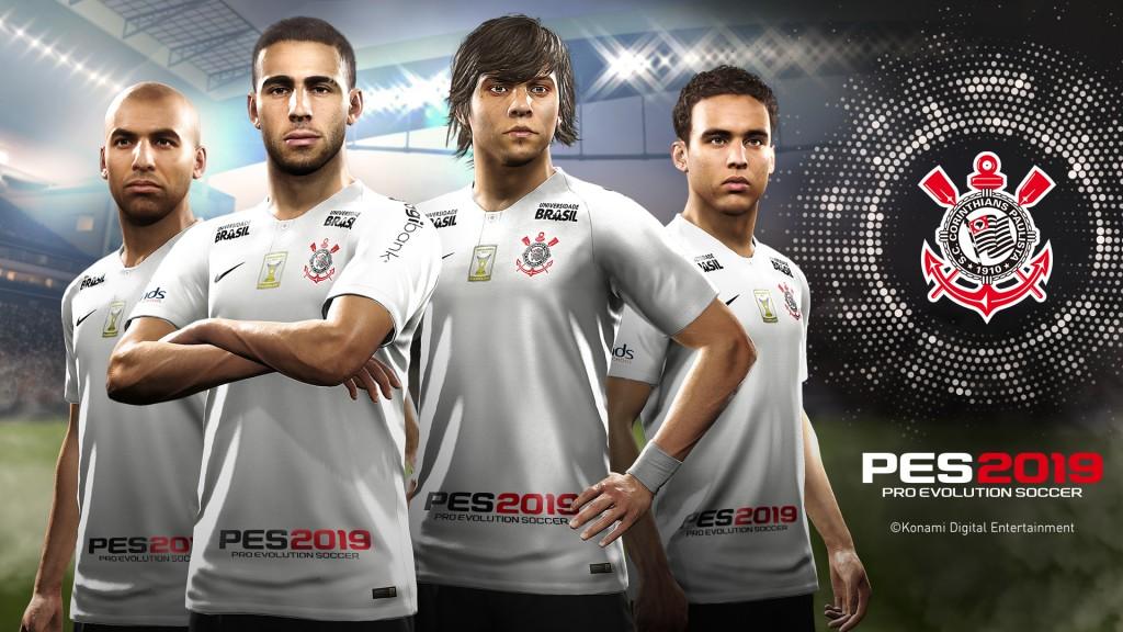 KONAMI Signs as Official Sponsor of Corinthians   KONAMI DIGITAL