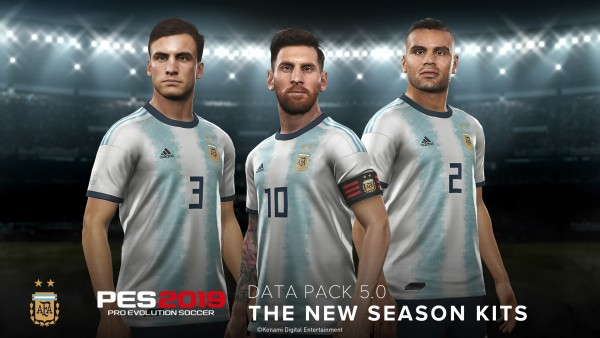 f65a5a2ab PES 2019 DATA PACK 5.0 NOW AVAILABLE FEATURING 60+ FACES