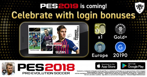 PES 2019 UPDATE COMING TO MOBILE THIS DECEMBER | KONAMI DIGITAL
