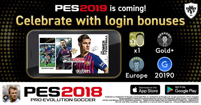 PES 2019 UPDATE COMING TO MOBILE THIS DECEMBER | KONAMI
