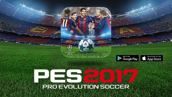 "Mobile Game ""PRO EVOLUTION SOCCER 2017"" Hits 10 Million"