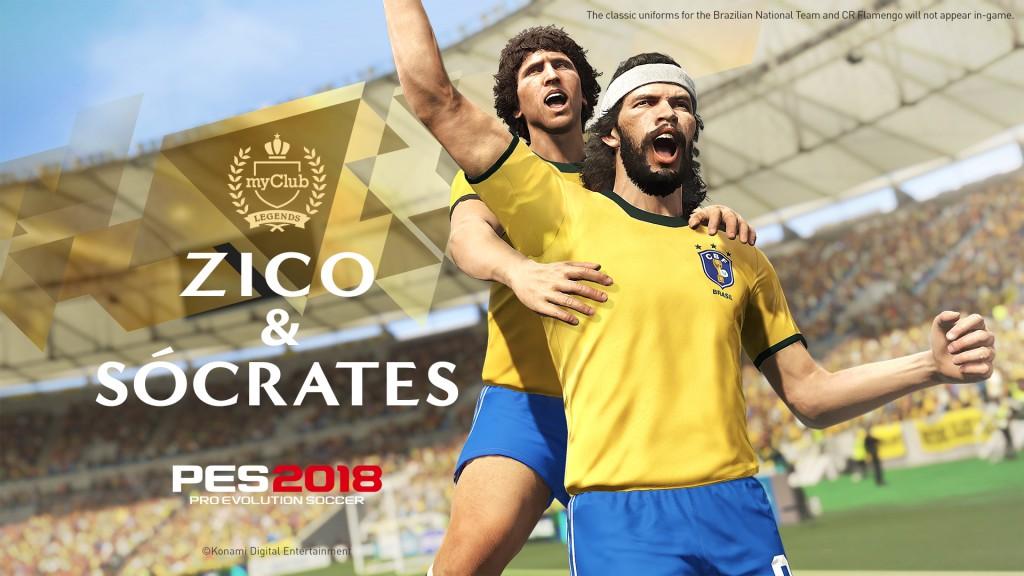 KONAMI Names Zico as New Ambassador and Legend Player for
