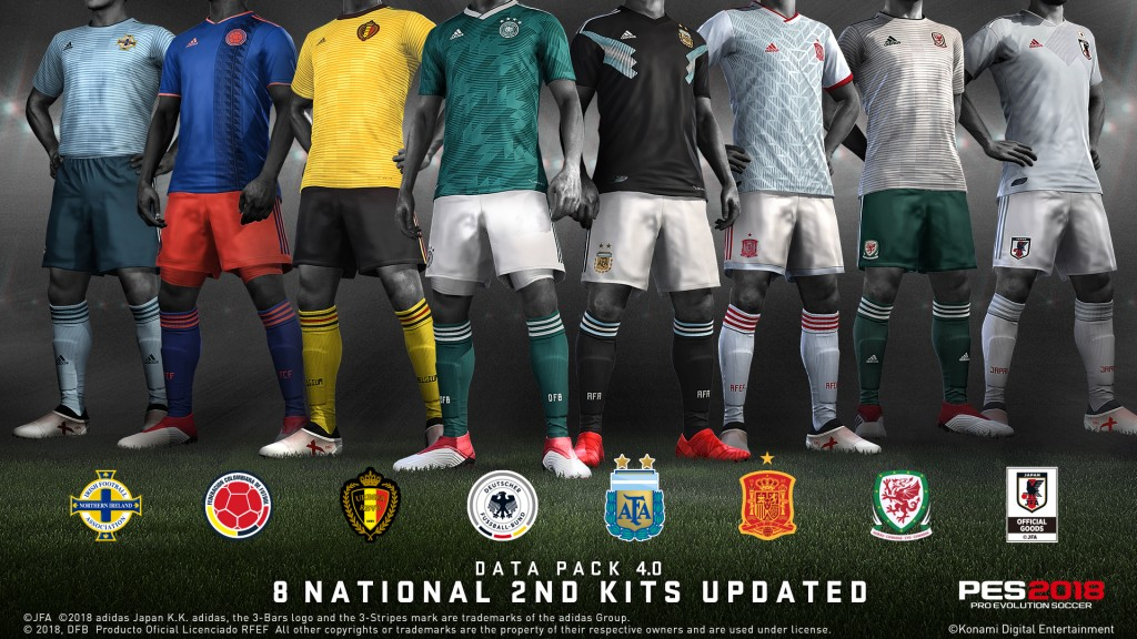 PES 2018 Data Pack 4 0 will deliver 100 new Player Face Updates