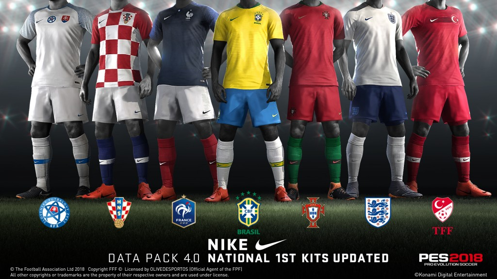 PES 2018 Data Pack 4 0 will deliver 100 new Player Face