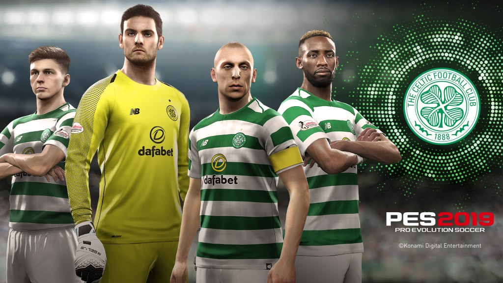 CELTIC JOINS PES 2019 PARTNER CLUB ROSTER | Konami Product