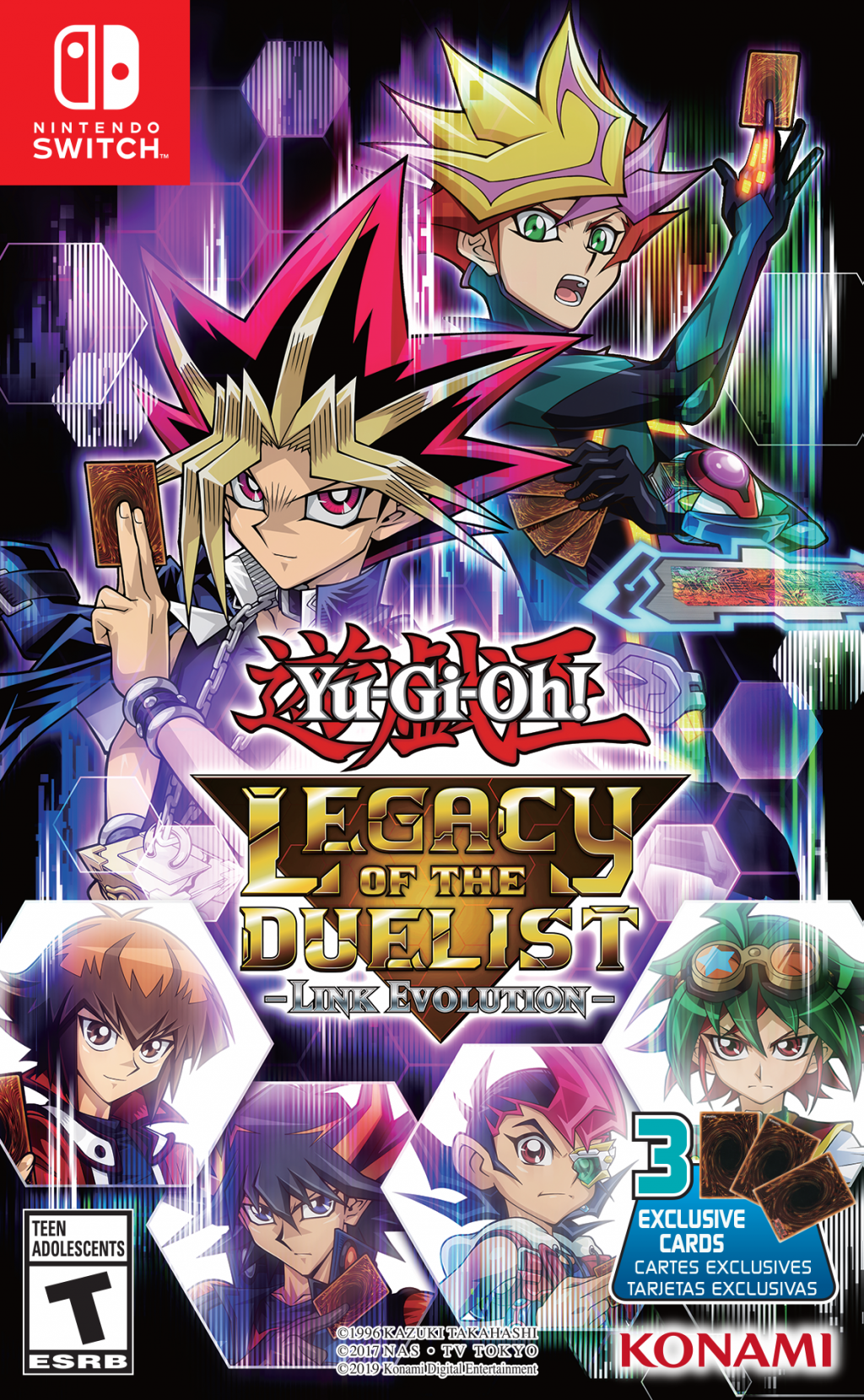 Yu Gi Oh Legacy Of The Duelist Link Evolution Out Now Konami Product Information