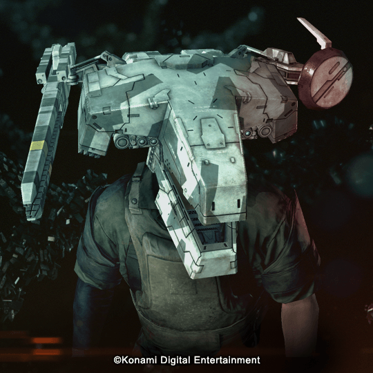 Accessory Metal Gear REX Head