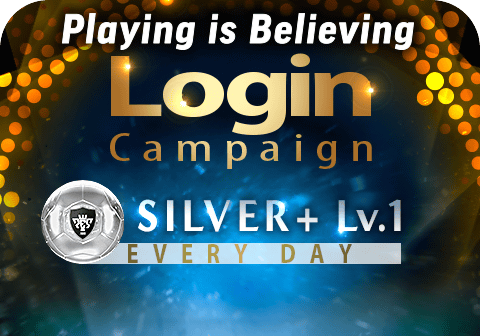 Playing is Believing Login Campaign!