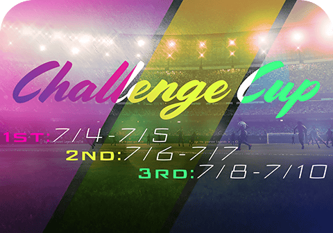 Limited Time Only! VS COM Challenge Cups!
