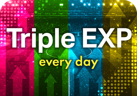 Triple Experience Points Campaign!