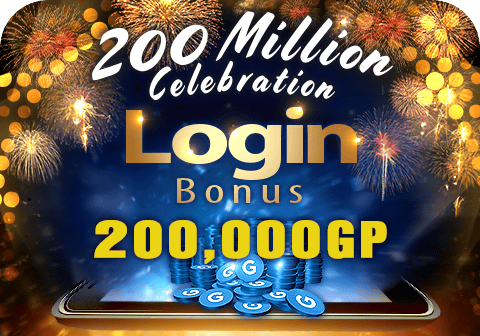 PES mobile's 200M downloads celebration login campaign!
