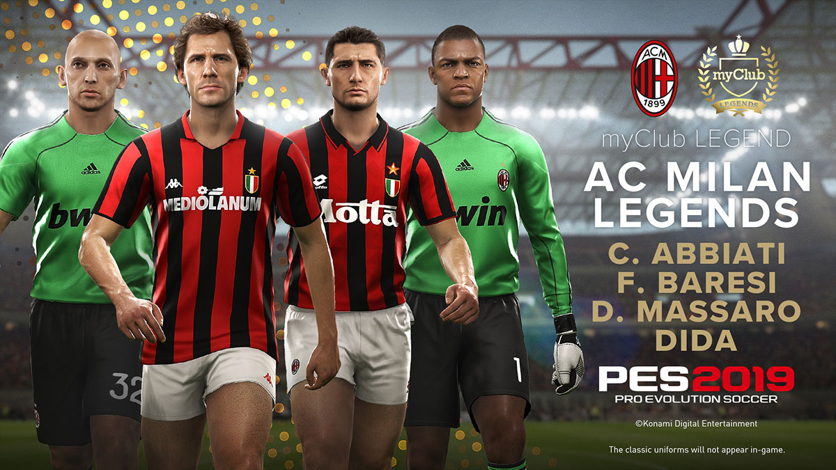 Data Pack 40 Available Now Pes Pro Evolution Soccer