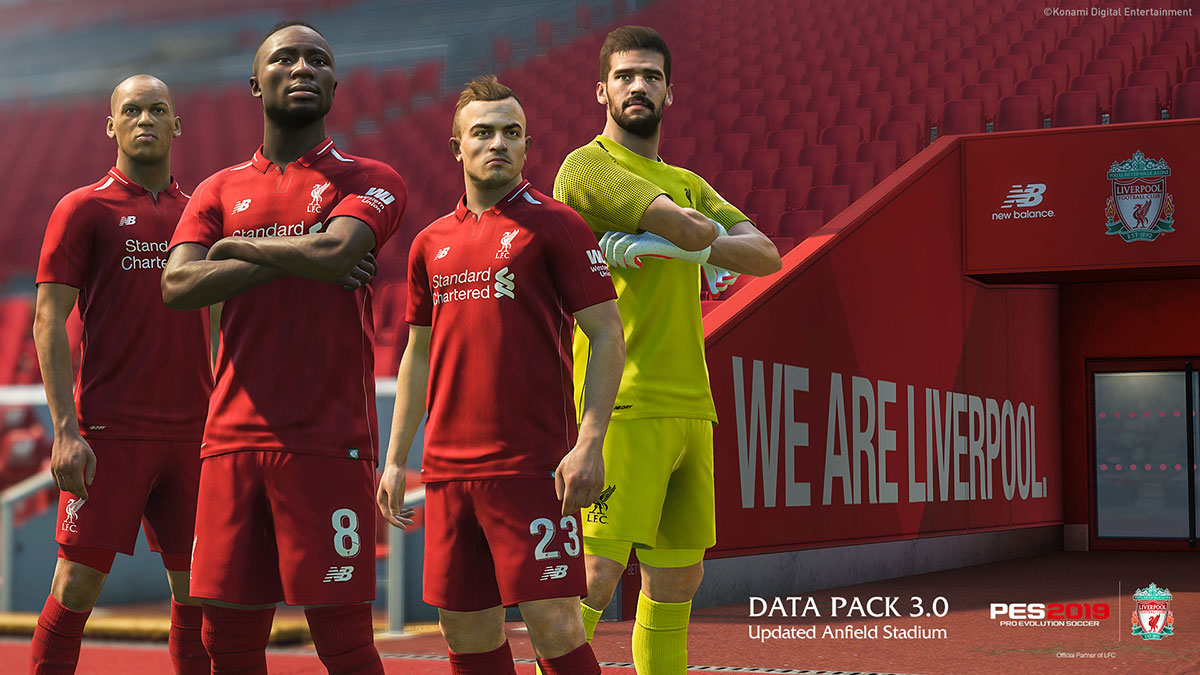 Data Pack 3 0 now available! | PES - PRO EVOLUTION SOCCER 2019