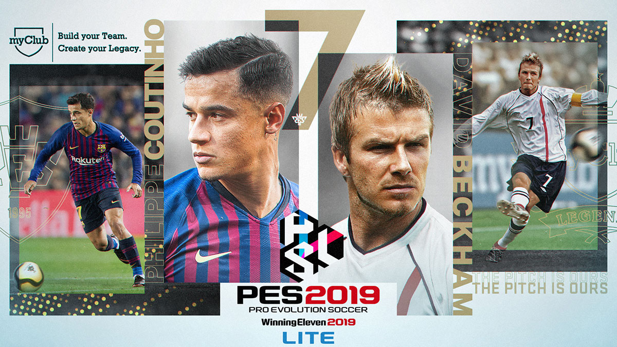 PRO EVOLUTION SOCCER 2019 LITE: Coming Soon!
