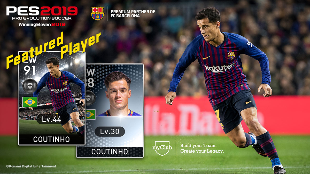 NEW MYCLUB | PES - PRO EVOLUTION SOCCER 2019 Official Site