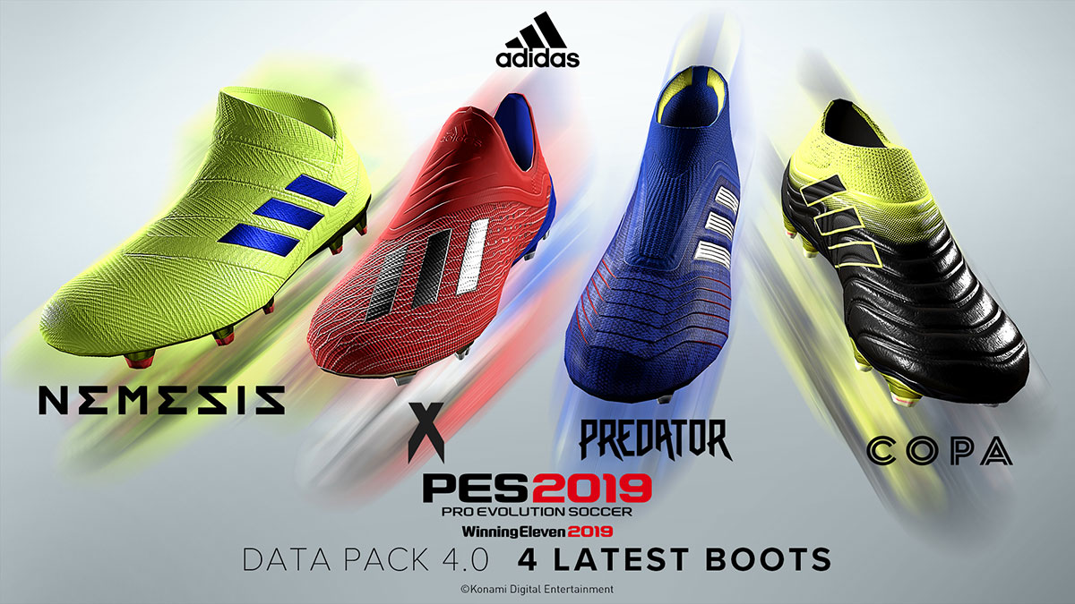 Data Pack 4 0 available now! | PES - PRO EVOLUTION SOCCER