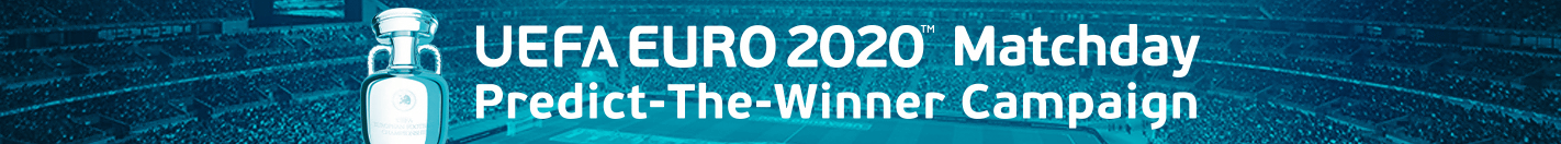 UEFA EURO 2020™ Matchday Predict-The-Winner Campaign