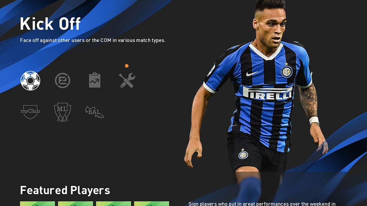 In-game menu club theme[Internazionale]