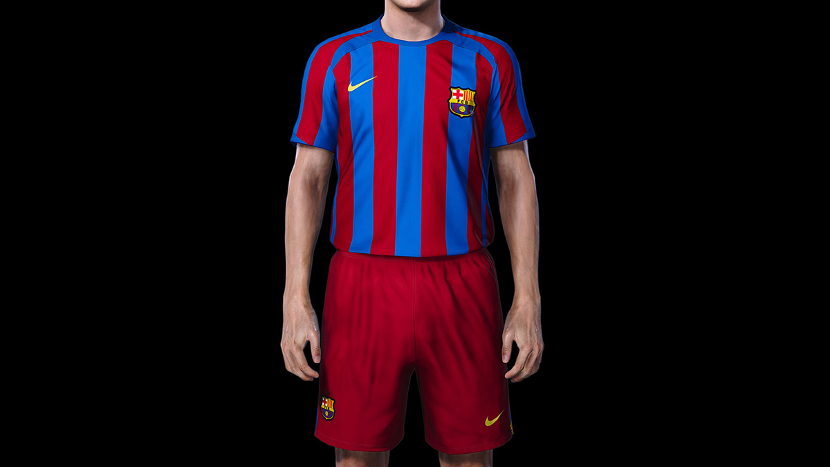 Classic kit (released February 2020)FC Barcelona]
