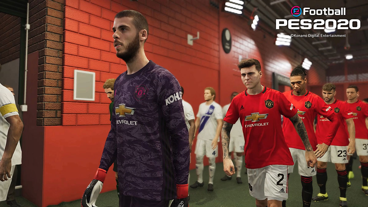 Manchester United Konami Official Partnership Pes Efootball Pes 2020 Official Site
