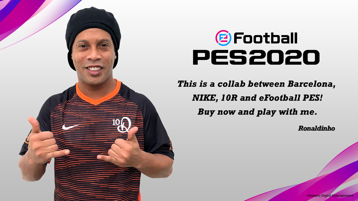 Umiliare Divulgare Rifiuto  Buy the Legend Edition and get the digital FC Barcelona×NIKE×10R kit! | PES  - eFootball PES 2020 Official Site