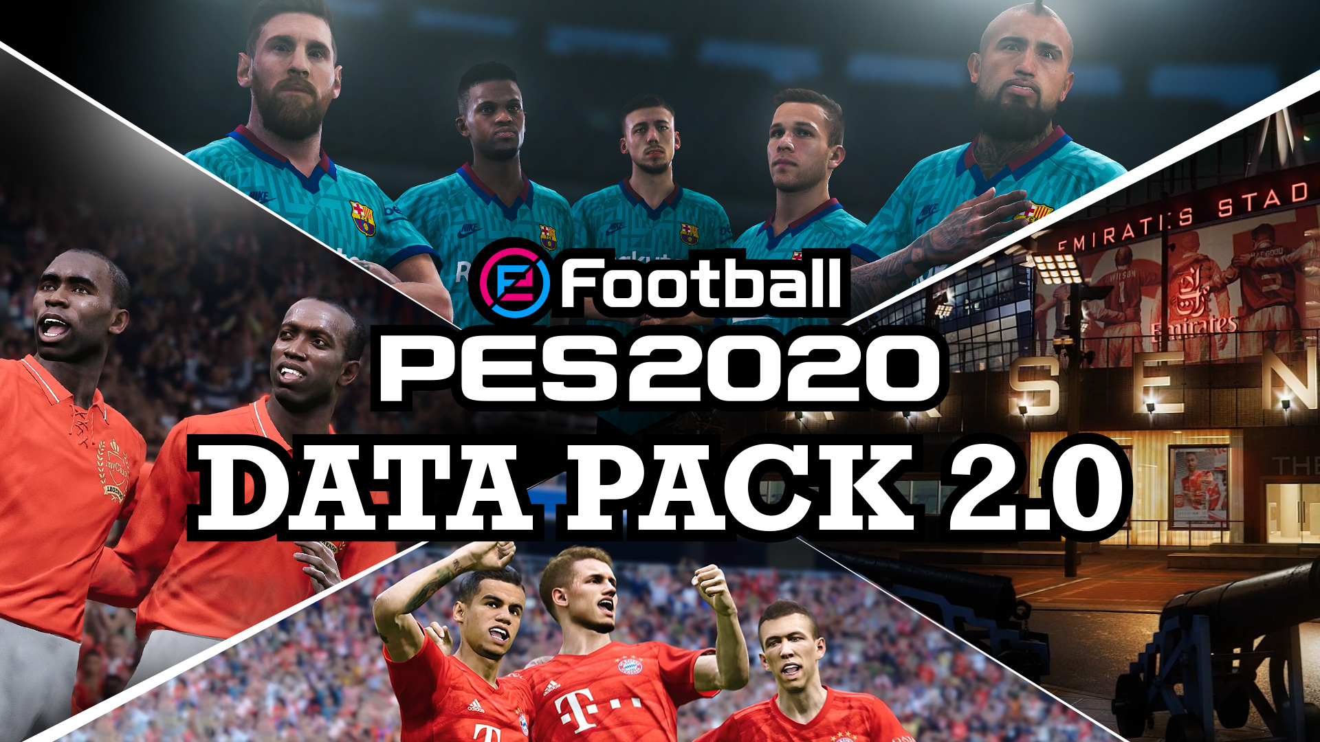 New content will be added to the game on October 24 to enhance your eFootball PES 2020 and Matchday experience!