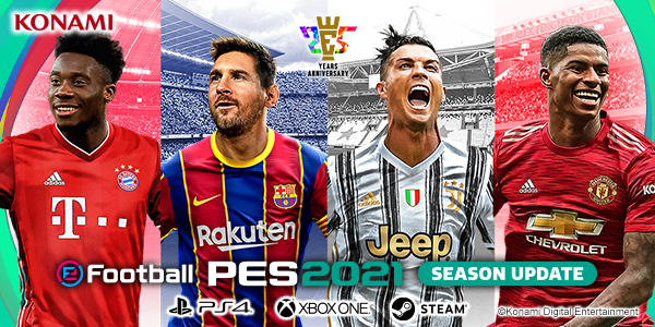Licences Pes Efootball Pes 2021 Season Update Official Site
