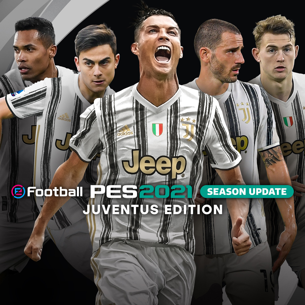 Juventus Konami Partner Clubs Pes Efootball Pes 2021 Season Update Official Site