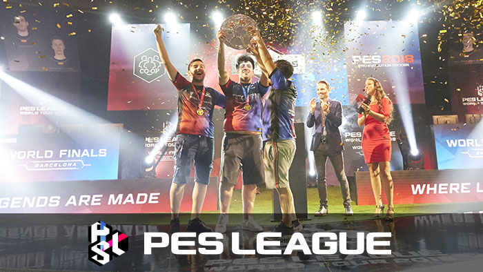 PES LEAGUE WORLD TOUR 2018 WORLD FINALS results