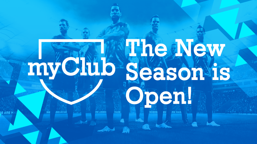 myClub new season is open!