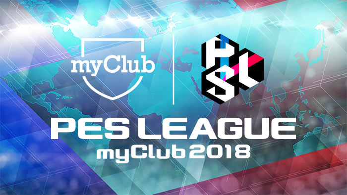 PES LEAGUE myClub 2018 1v1 category weekly rankings now open