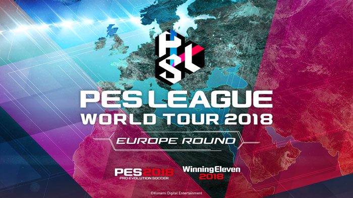 PES LEAGUE WORLD TOUR 2018 EUROPE ROUND Participating players