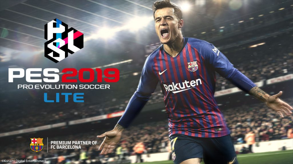 PRO EVOLUTION SOCCER 2019 LITE: Now available!